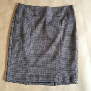Limited herringbone check skirt